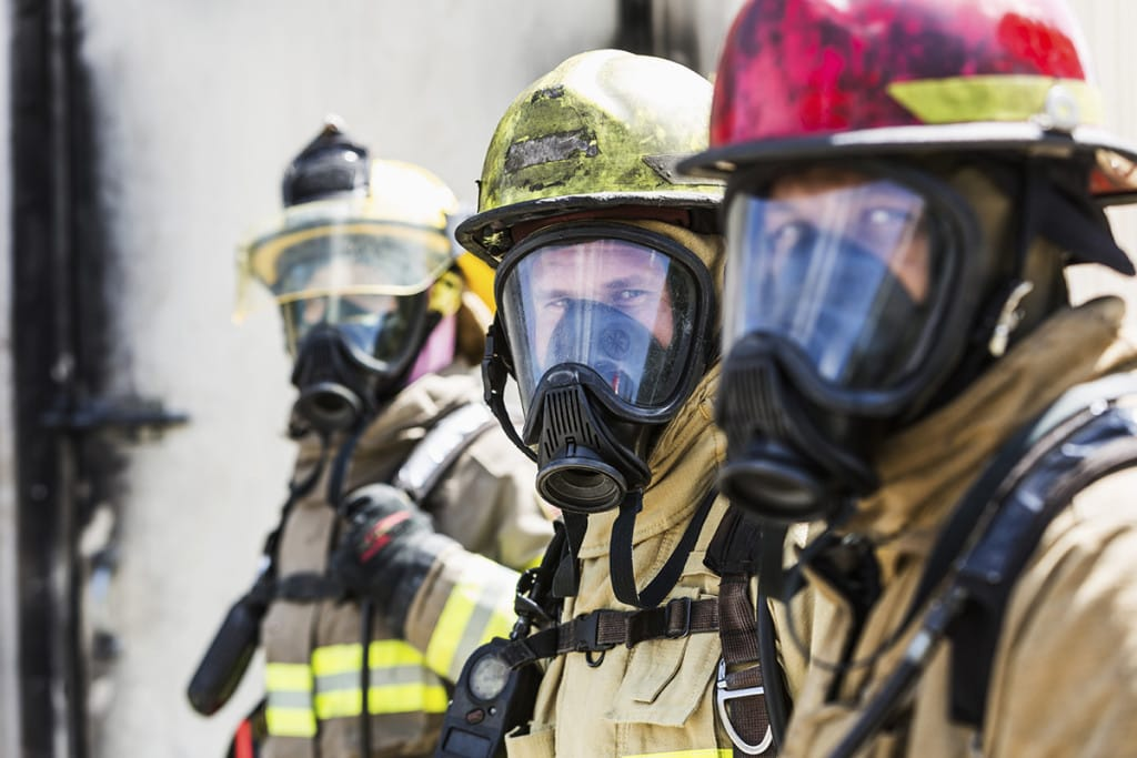 LASIK and firefighters in an emergency response team