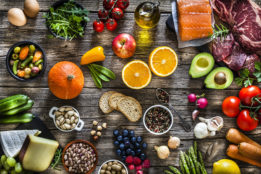 Healthy foods build a healthy immune system