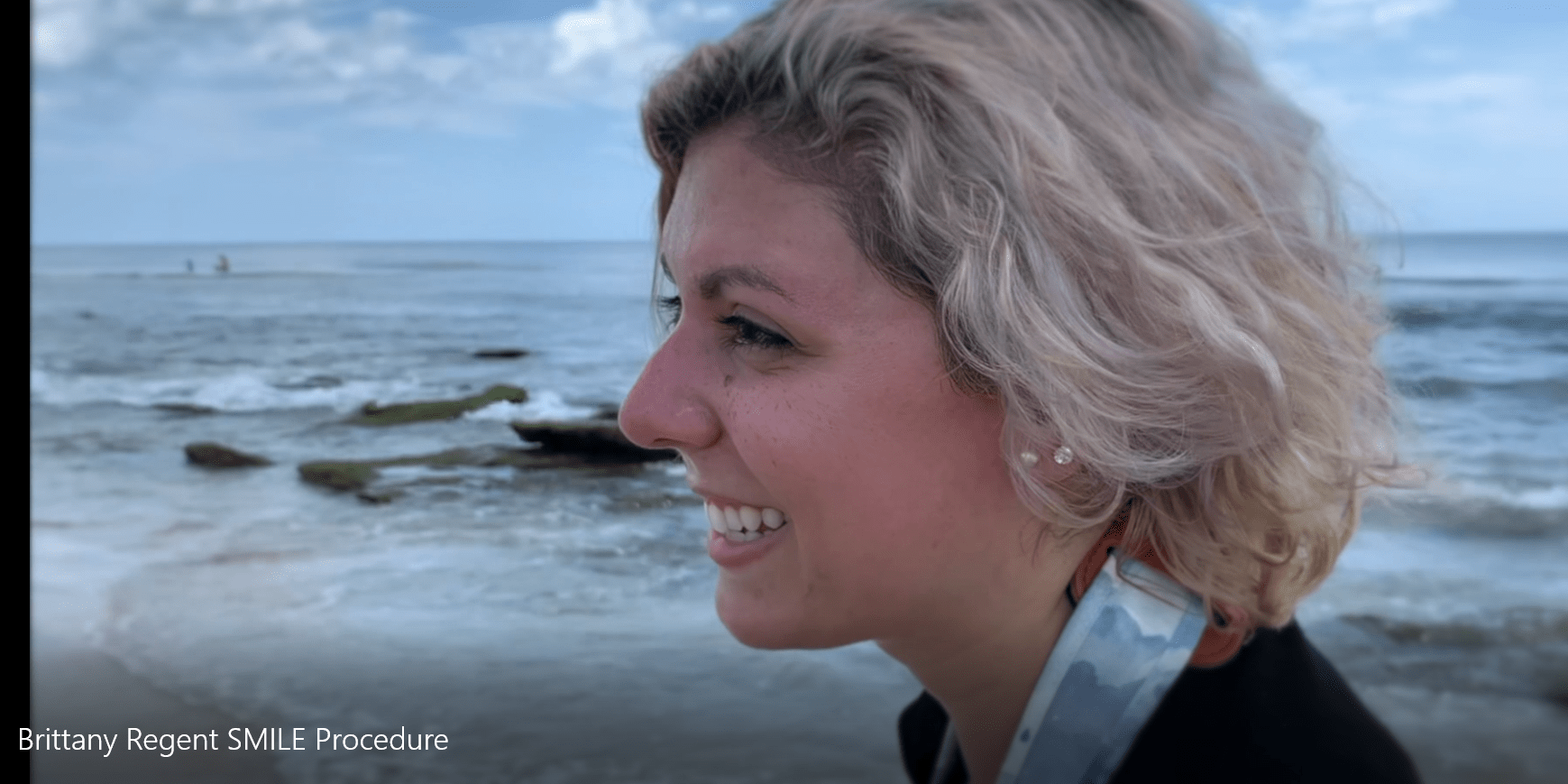 SMILE laser vision correction patient photographer Brittany Regent